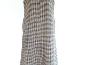 千鳥格子のジャンバースカート 9の画像