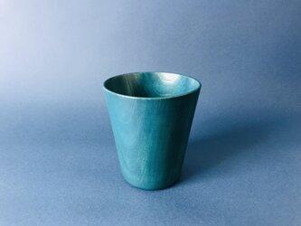 青漆タンブラー(ケヤキ)漆器の画像