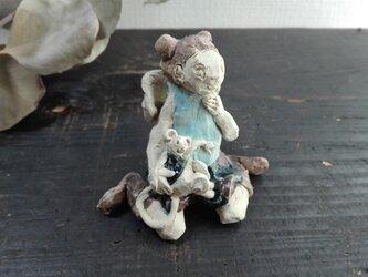 天使とネズミ ブルーの画像