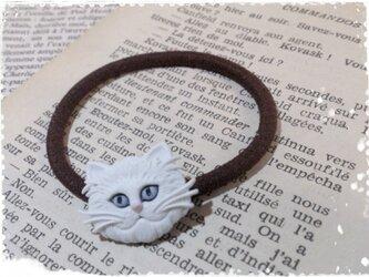 cats hair accessory ホワイトの画像