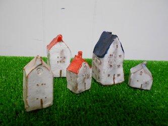 陶器ハウス 1-22 (5個)の画像