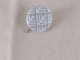こぎん刺しのポニーフック〈松笠〉2.9cmの画像