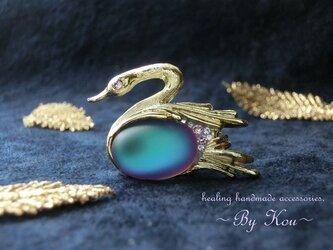 ♡幸運の象徴♡~ *✥Vintage Swan brooches✥*/Dの画像