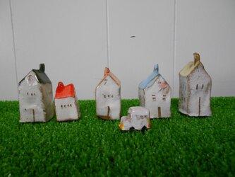 陶器ハウス 1-24 (5個)の画像
