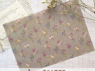 透ける模様紙【bouquet】の画像