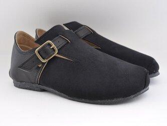 【受注製作】ROUND buckle shoesの画像