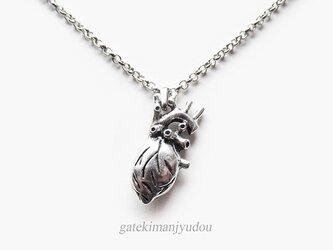 心臓ネックレス【長さ変更可】の画像