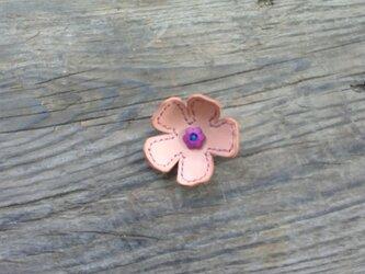 花のブローチ R (小)の画像