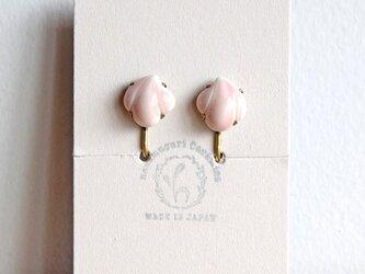 花貝イヤリング【ピンク】(c)の画像