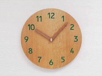 直径26cm 掛け時計 オーク【2014】の画像