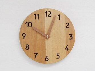 直径25cm 掛け時計 オーク【2016】の画像