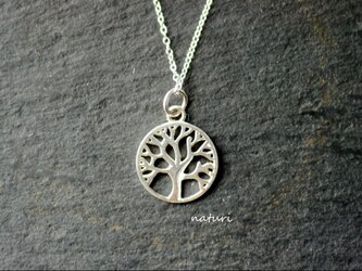 【arble】sv925 tree of life necklaceの画像