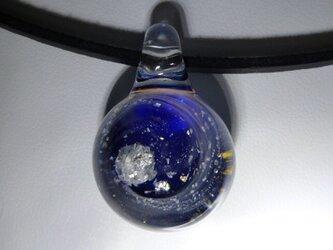 宇宙ガラス、水晶 NO.2(ガラス、ペンダント、天然石、パワーストーン)の画像