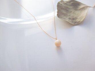 k18✼Makkoh 6mm pendant (chain45cm) 92068の画像