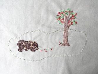 【展示作品】くまの住む森~秋~の画像