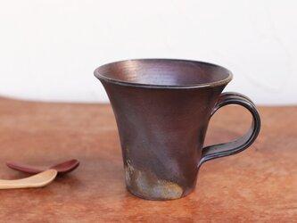 備前焼 コーヒーカップ(大) c5-090の画像
