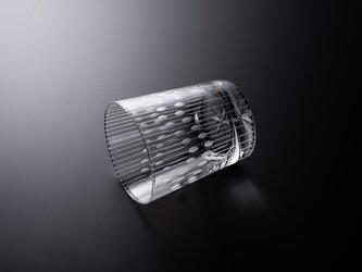 東京切子(花切子)ロックグラス「花火」の画像