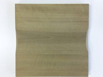 ホオのまな板 国産 一枚板 シンプルで使いやすいの画像