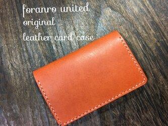 Italy leather 名刺 case 使うのが楽しい‼️の画像