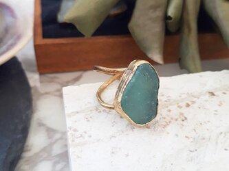 【10号】seaglass ringの画像