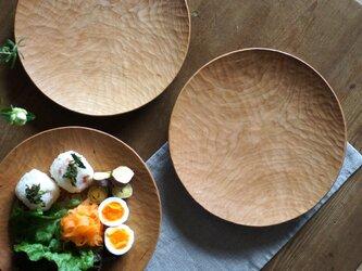 丸皿(φ240) チェリーの画像