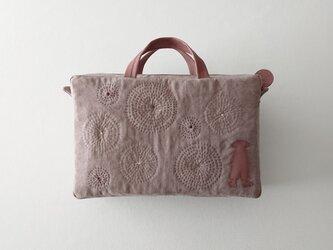 annco stitch linen bagの画像