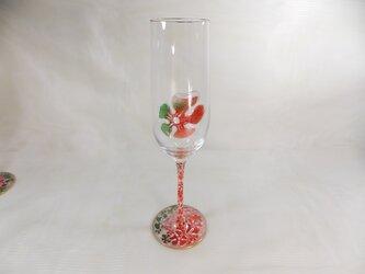 クリスマス・シャンパンG(お花ふわり)の画像
