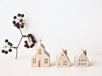 小さな木の家 ー教会63ーの画像