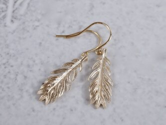 Daisy leaf earrings [EP066K10]の画像