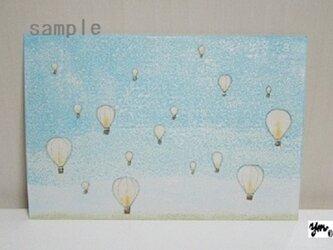 葉書〈気球-1〉の画像