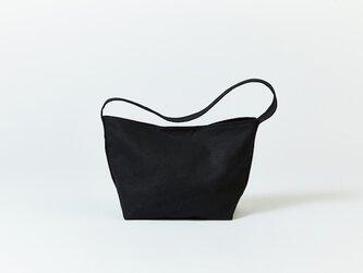 キャンバス ショルダーバッグ ブラック|通勤 通学 旅行 メンズ レディース マザーズバッグ メッセンジャーの画像