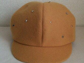 星星キャスケットの画像
