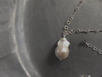 baroque pearl*long necklaceの画像