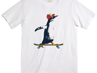 [Tシャツ] Penguin ridingの画像