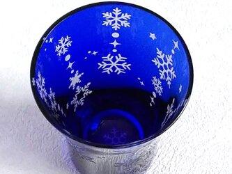 雪の結晶ラインの画像