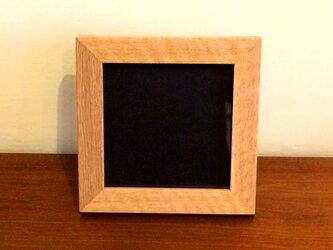 フォトフレーム オーク 正方形 の画像