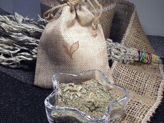 【浄化】ホワイトセージサシェ(匂い袋)カルフォルニア産 20g袋付きの画像