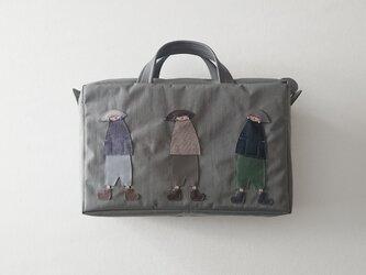 annco nylon bag [gray]の画像