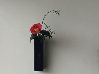 掛け花入 瑠璃-1の画像