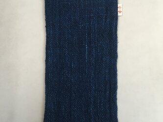 ハーフハンカチ 銀河 藍染めハンカチ 手織りハンカチ ハーフハンカチ 銀河の画像