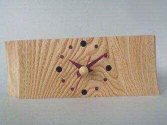 栗のお木時計の画像