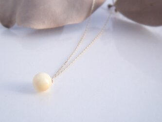 k10✼Makkoh 6mm pendant (chain40cm) 92070の画像