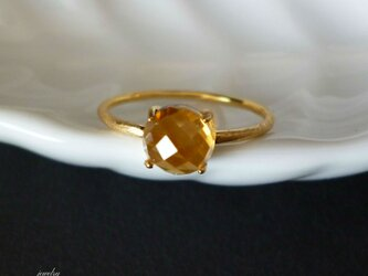 Candy - citrine ringの画像