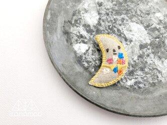 nuuno刺繍ブローチ 「お星さま集めてきました(NT)」の画像