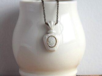 金彩香水瓶ペンダント(b)の画像