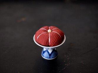 アンティークキモノ針山ーオリエンタル/KIMONO Pincushionの画像