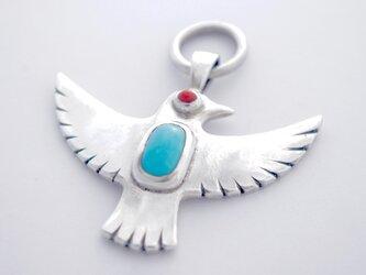 [ PEACE BIRD ] ペンダントトップ の画像