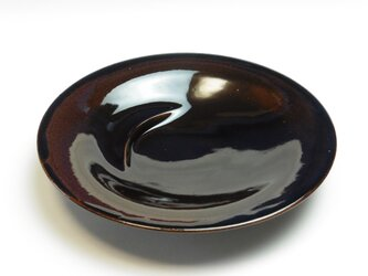 飴釉 万能カレー皿の画像
