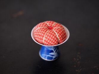 アンティークキモノ針山ーかのこ/KIMONO Pincushionの画像