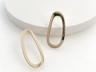 oval circle pierces/nohole n530の画像